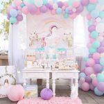Cumpleaños en el mundo mágico de los unicornios