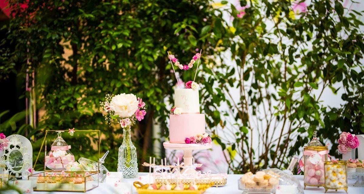 Cumpleaños Floral Garden de M&N