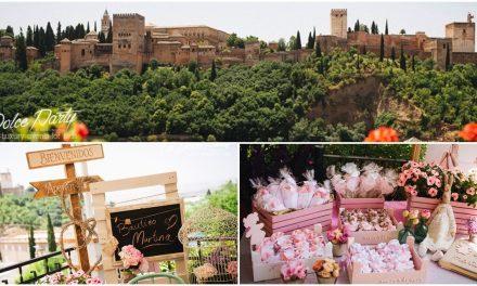 Bautizo de Martina con vistas a La Alhambra, Granada