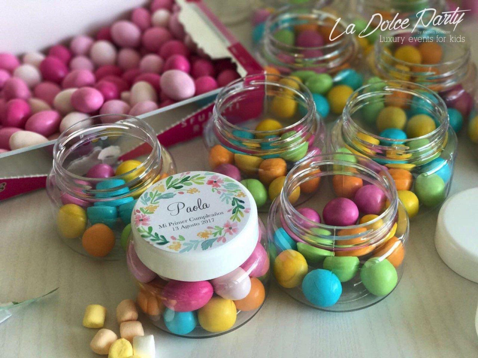 Chuches Gourmet Como Detalles Para Invitados La Dolce Party ~ Detalles Con Fotos Para Regalar