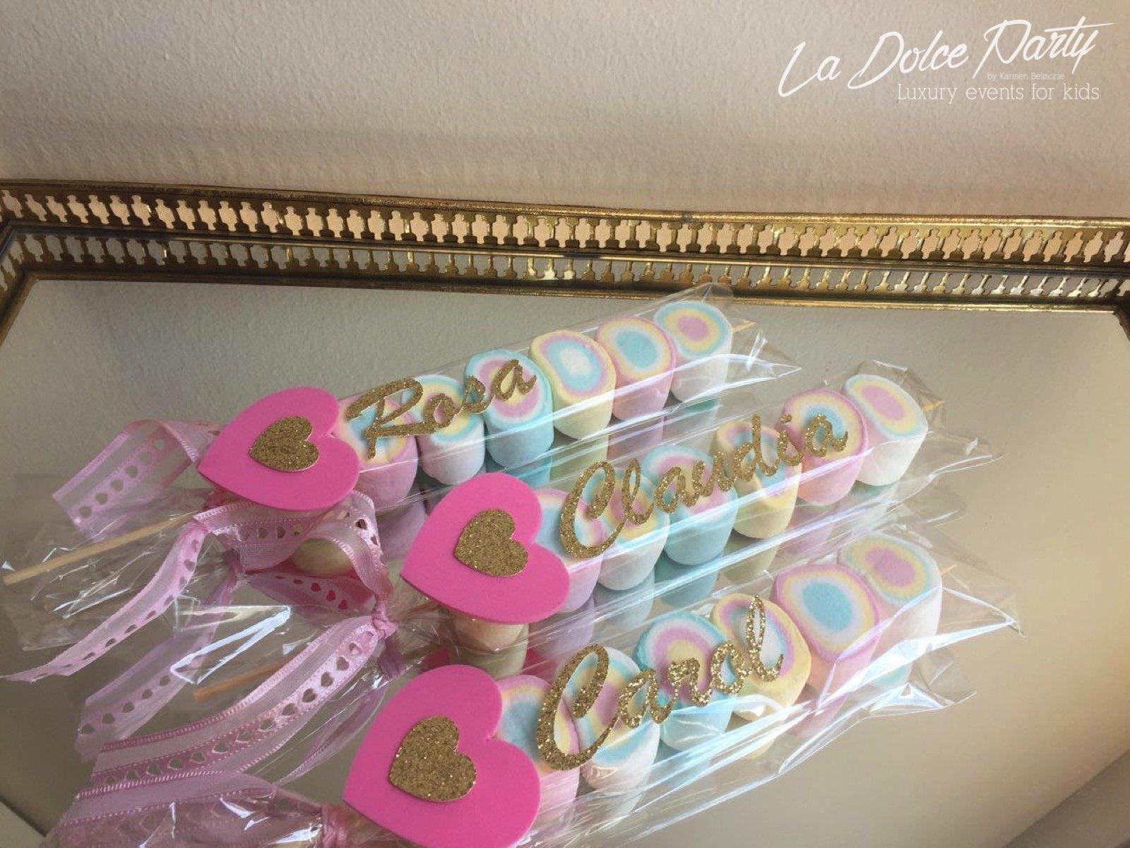 Chuches gourmet como detalles para invitados la dolce for Para invitados