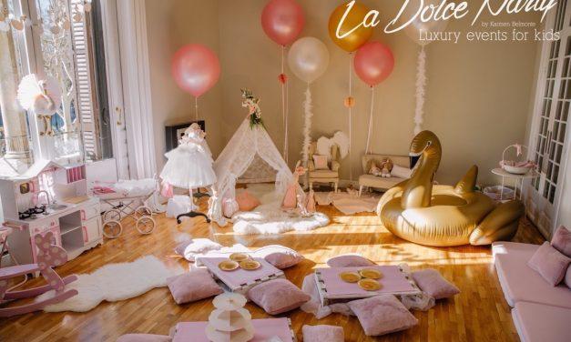 Elegante cumpleaños de  «El Lago de los Cisnes»