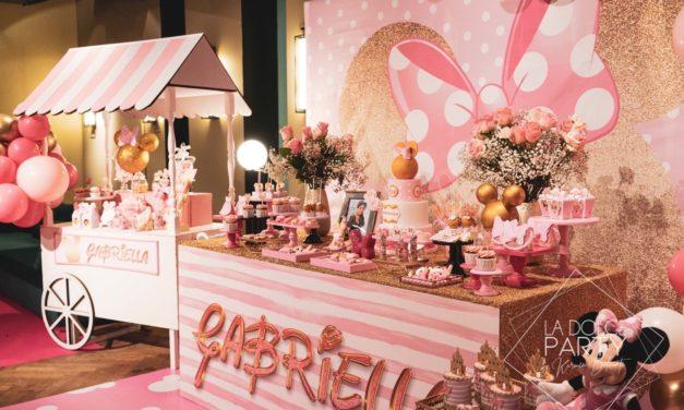 MINNIE MOUSE PARTY: fiesta de cumpleaños de lujo